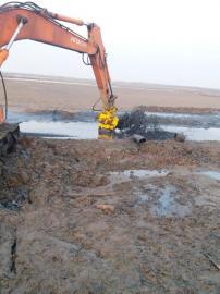 挖掘机绞吸式耐磨泥沙泵-液压潜水清淤抽沙泵