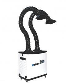 电路板流水线烙铁抽烟烟尘处理 电路板车间流水线焊接吸烟机