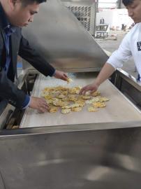 柠檬、菠萝片状食品类微波干燥杀菌多用一体机