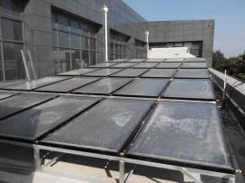 平板太阳能热水器安装图解 平板太阳能集热器