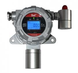 壁挂式氢气检测仪,索富通固定式氢气泄漏报警器