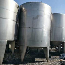 10吨不锈钢乳品奶罐 双层保温乳品罐 奶储存罐