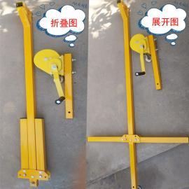 空调外机吊装神器 室外起重吊具 200kg-400kg 多功能手摇吊机