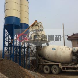 广源建机HZS50混凝土搅拌站 商混站机械设备