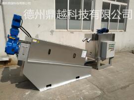鼎越环保叠螺机 污泥脱水设备 301型叠螺机