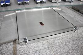 不锈钢超低双层地磅,超低电子平台秤