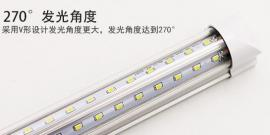 T10led灯管1.2米led节能灯直径28w270度大角度发光-郎特照明品牌