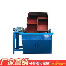 山砂河砂洗沙生产设备、单排双排定制轮斗洗砂机、