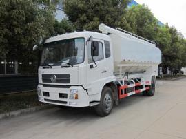 散装饲料运输车图片 可上牌的散装饲料运输车