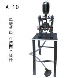 气动隔膜泵泵浦油漆喷漆泵A-10 A-15 A20油墨双隔膜泵1寸喷枪
