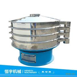 圆形振动筛定做 接近水的液体筛分 圆形不锈钢旋振筛