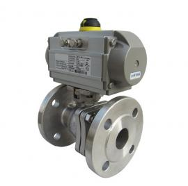 ZSSO-16+气动O型球阀+气动低温调节阀+气动切断阀+气动执行器