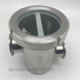 不锈钢空气阻断器-卫生级防倒灌地漏、304不锈钢空气隔断器