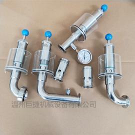 卫生级防倒灌地漏品牌 隔断器规格-空气阻断装置型号DN38mm