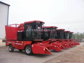 自走式玉米青储机 大型青贮收获机