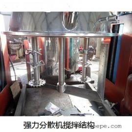 玻璃胶强力分散机