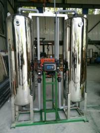 不锈钢锅炉软水器树脂桶