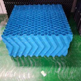 方形圆形冷却塔填料 冷却水塔散热片淋水片点波S波填料500*1000
