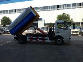 东风多利卡6立方拉臂式垃圾车