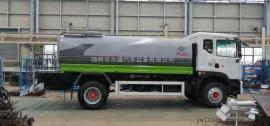 东风多利卡程力威牌CLW5182GSSD5型洒水车