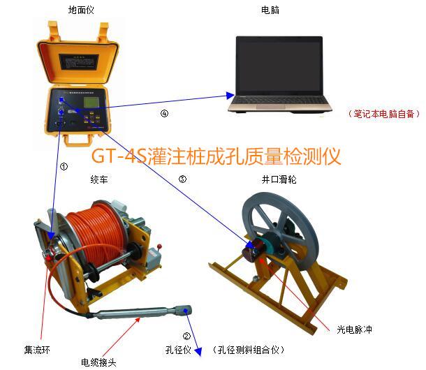 灌注桩成孔质量检测仪