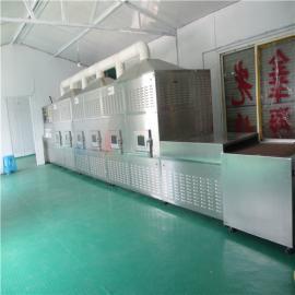 蚕豆微波烘烤熟化设备