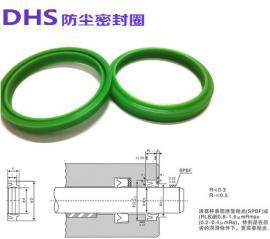 UNS气缸油缸活塞活塞杆两用密封圈UHS DHS防尘密封圈油封U型圈