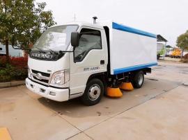 小型扫路车福田道路清扫车扫地车环卫吸尘车洗扫车