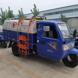 新农村时风三轮垃圾车环卫绿化环境专用小型挂桶式垃圾车