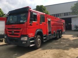 重型水罐消防车-豪沃16吨水罐消防车