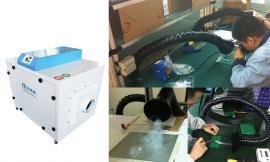 车间焊接除烟仪 烙铁焊接吸烟仪 烙铁排烟仪 焊烟对人体的危害