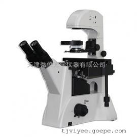 微仪光学三目倒置生物显微镜WYS-37XBW