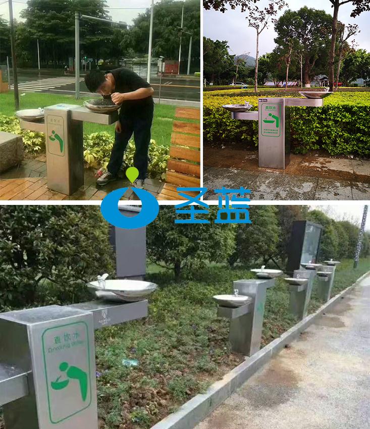 304不锈钢户外直饮水机公共饮水平台景区公园户外直饮水机