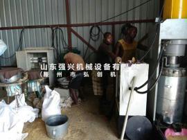 米糠全自动大型液压榨油机,动物油渣火锅底料新型压油机设备
