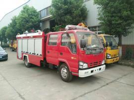 五十铃2吨小型水罐消防车
