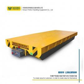 全版本定制型大型重载车间过跨境可充电蓄电池轨道平车