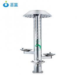 灯柱户外饮水台三盆户外饮水台步行街户外不锈钢直饮水机