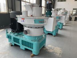 福鑫FX580高效环保木屑造粒机 多功能稻壳造粒机生产线厂家