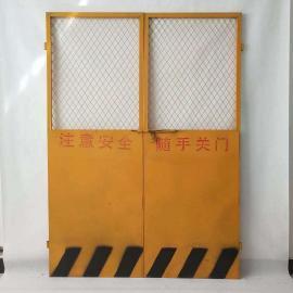 莱邦生产施工楼层外架电梯安全门可根据图纸定做