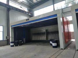 移动喷漆房装置 伸缩房制作工厂 废气处理设备