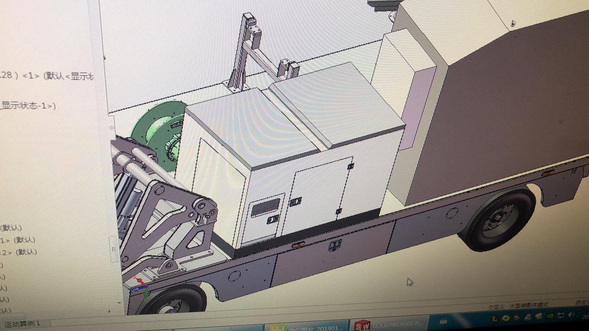 工程车用的永磁发电机20kw