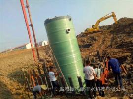 市政排水一体化预制污水提升泵站