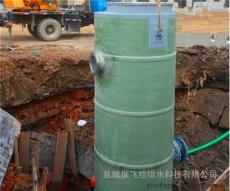 每天3000吨污水处理一体化提升泵站