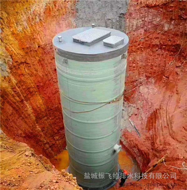 120立方每小时污水处理一体化污水泵站