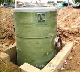 直��1.8米高5米玻璃�一�w化污水提升泵站