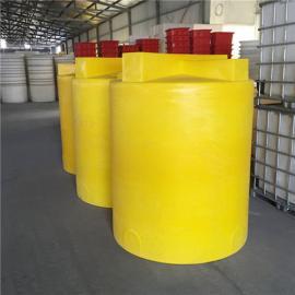 10吨方形加药罐生产 PE锥底化工储罐加工