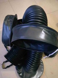 定制圆筒式油缸防护罩,辰睿圆筒式油缸防护罩采用三防布材质制做