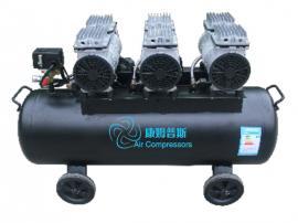 康姆普斯无油静音空气压缩机TE603-70L