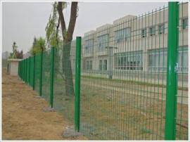 双边丝护栏网/绿化围网 隔离栅围栏希望*生产大量现货