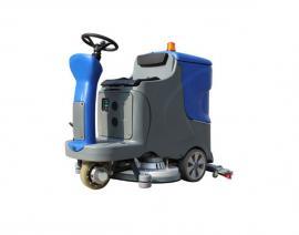 工商业中型驾驶式双刷洗地机洁威科W70B/80B